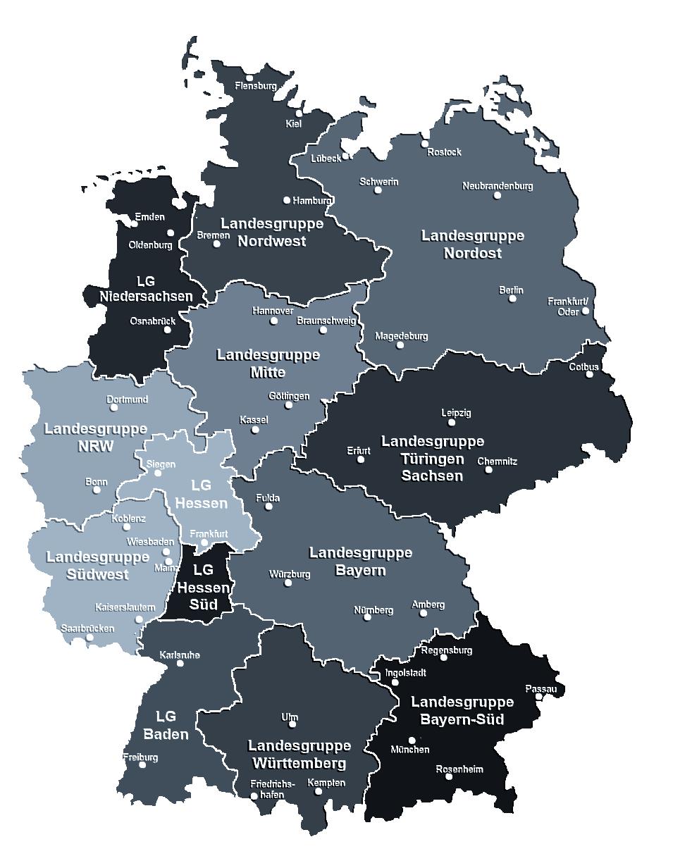 ADKN Landesgruppen